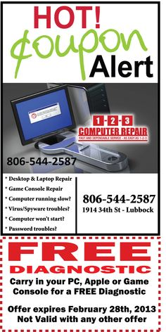 Awesome Laptop Repair Lubbock