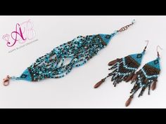 DIY Video Tutorial Bracciale brick stitch con cubi miyuki e rocailles - YouTube