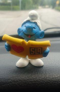 Annons på Tradera: Udda SLA smurf