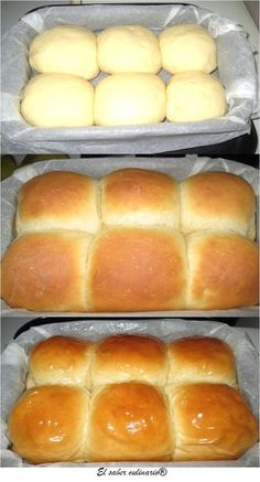 cómo hacer un brioche casero Bread Recipes, Cooking Recipes, Pan Dulce, Pan Bread, Bread And Pastries, Croissants, Cakes And More, Snacks, I Foods
