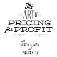 etsy's The Art of Pricing for Profit  Workbook (pdf)