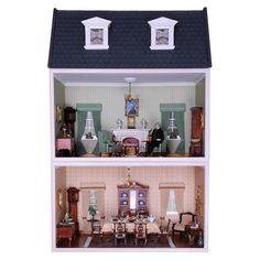NEU:  MDF Bausatz für ein kleines - MODUL-BOX-HAUS - mit Frontglasscheiben, aufklappbarem Dach und zwei Dachgauben! Das Haus ist jederzeit erweiterbar durch hinzufügen weiterer Modul-Boxen.