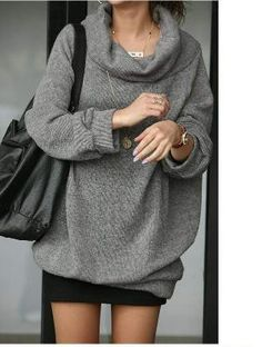 big comfy sweater
