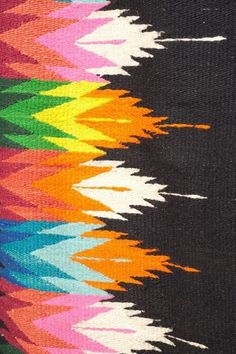 via Design Seeds. I would love a rug in this pattern for the living room.