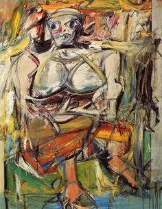 willem dekooning, woman i, 1950-1952