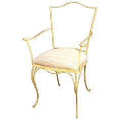French Gilt Chair | From a unique collection of antique and modern chairs at https://www.1stdibs.com/furniture/seating/chairs/