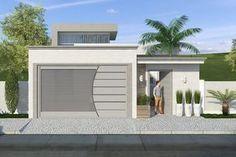 Custo de obra por m2. Confira o custo para construir. Planta de casa com pé direito alto de vidro