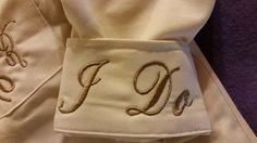 Check out Wedding Shirt Monogram I Do Date Personalized Womens Bride Shirt Embroidered Brides Shirt on fabuellaboutique