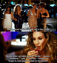 "Labels"" ~ SATC Quotes ~ Sex and the City (2008) 