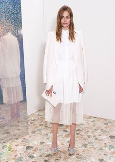 Stella McCartney Resort 2013 Collection.  I really like this see-through fashion and the futuristic and metallic fabrics.