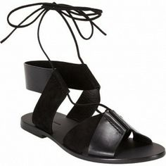 The chicest of sandals // Alexander Wang Marlene Lace-Up Sandals