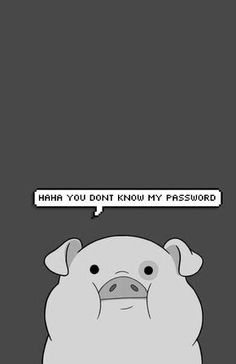 Waddles (formerly Fifteen-Poundy), Mabel's pig in Gravity Falls cartoon Phone lock screen wallpaper Wallpaper Hipster, Pig Wallpaper, Cartoon Wallpaper Iphone, Disney Phone Wallpaper, Tumblr Wallpaper, Aztec Wallpaper, Cute Wallpaper For Phone, Wallpaper Quotes, Wallpapers Android