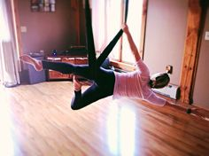 kama fitness and nutrition  aerial yoga aerial yoga swing   anti gravity yoga hammock swing straps      rh   pinterest