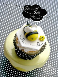 Title Image: How to Make a Fondant Bee - Tutorial on Craftsy