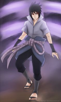 Here he comes by Komiya-chan on DeviantArt #uchiha #sasuke