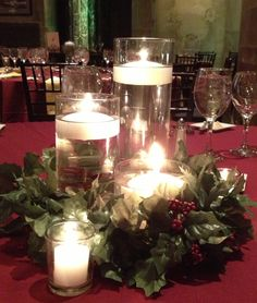 2012 Holiday Centerpieces