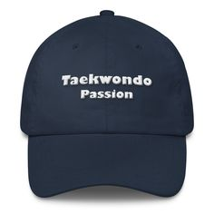 Gorra Taekwondo Passion - €27.88   http://soloartesmarciales.com   #Taekwondo #SacosdeBoxeo #DobokDaedo #DobokAdidas #Hapkido #Aikido #BJJ #Karate #Judo #Boxeo #Ninjutsu #CletoReyes #Rudeboys #Mizuno #Sambo