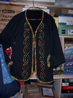 Reverse Applique Sweatshirt tutorial...Tactile Pleasures . . . in Fabric..
