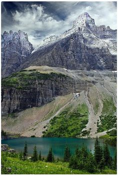 Iceberg Lake, Montana #USA.