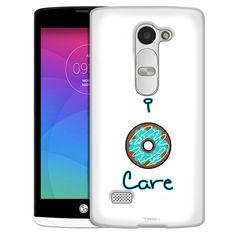 LG Leon I Donut Care Blue Slim Case
