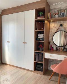 Small Bedroom Interior, Fitted Bedroom Furniture, Modern Luxury Bedroom, Luxurious Bedrooms, Home Bedroom, Home Design Decor, Home Room Design, Fashionista Bedroom, Minimal House Design