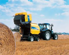 New Holland provide industry leading solutions with their range of tractors and harvesting equipment.