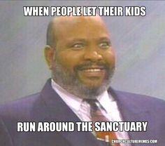 Kids running around in church meme #christian #memes #kids