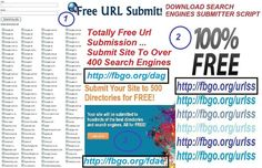 Free Directories & Search Engines Submissions