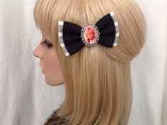 Hey, I found this really awesome Etsy listing at https://www.etsy.com/listing/224276021/david-bowie-labyrinth-hair-bow-clip