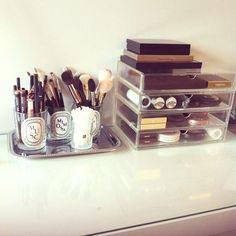 Spring Cleaning: Organization Porn : tumblr-makeup organization #Spring #Cleaning: #Organization