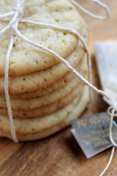Chai Tea Spiced Butter Cookies - Just need to find a good substitute for the shortening, no such thing in SA.