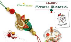 Hurry Up ! Hurry Up ! Hurry Up !  Rakhi is one day ago, and its time comes to celebrating Raksha Bandhan. So, Visit our online store to find Rakhi, Gifts and Rakhi Special Sweets to celebrate the eternal bond of love.  Order Now: http://www.ghasitaramgifts.com/c/rakhi-gifts-2015/