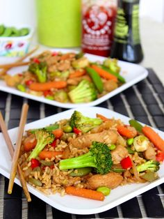 Sweet and Spicy Stir Fry - easy, healthy & delicious!