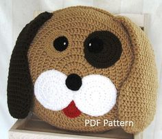 PDF Crochet Pattern: My best friend Dog Cushion / Pillow This written crochet pattern includes all the instructions needed to make your own cute cushion. The pattern is written in English, using US crochet terminology. I included detailed instructions, many step-by-step photos and useful tips and tricks. You will be purchasing a downloadable pattern and NOT receiving a physical item Downloads are available once your payment is confirmed. Confirmation might take a few minutes up to, ve...