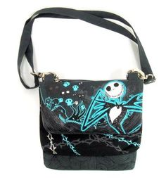The Nightmare Before Christmas triple compartment shoulder bag