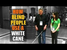 Tommy Edison, who has been blind since birth, explains how a blind person uses a white cane (guide stick). He is joined by Jackie, from NewsyNews, to help de...