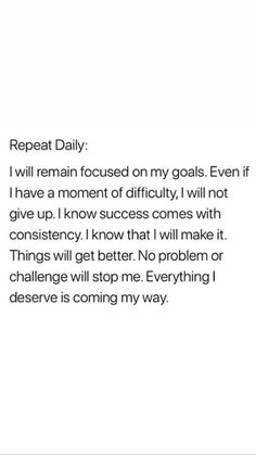 Quotes Positive affirmation mantra - mindfulness practice about not giving up - Mantra ., affirmation mantra - mindfulness practice about not giving up - Mantra . Positive affirmation mantra - mindfulness practice about not givin. Self Love Quotes, Quotes To Live By, Me Quotes, Not Giving Up Quotes, Do Better Quotes, Self Growth Quotes, Qoutes, Thank U Quotes, Quotes On Goals