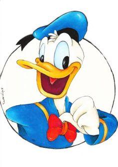 Donald Duck clip art