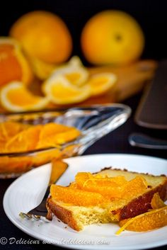 Orange Olive Oil Cake #Recipe