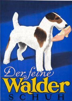 Der feine Walder Schuh Terrier High Heels Shoes Fashion Poster Ad Fine Art…                                                                                                                                                                                 More
