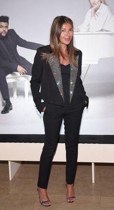"Nina Garcia in Saint Laurent attends Harper's BAZAAR Celebration of ""ICONS By Carine Roitfeld"". #bestdressed"
