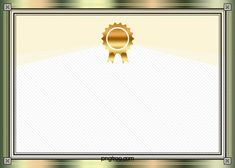 Metal Frame Vector Certificate Background – Miracles from Nature Certificate Of Recognition Template, Certificate Layout, Certificate Background, Free Printable Certificates, Certificate Design Template, Light Background Images, Creative Background, Background Vintage, Cadre Photo