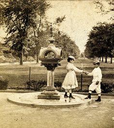 Central Park, New York City, circa 1870s.
