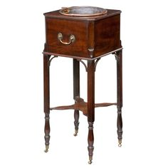 George III Period Mahogany Jardiniere | From a unique collection of antique and modern cupboards at https://www.1stdibs.com/furniture/storage-case-pieces/cupboards/