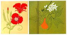 Gene Bauer, botanical serigraphs, California flowers