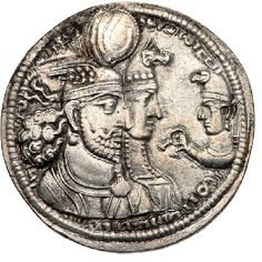 Sassanid, The Last Kingdom, Coin Art, Antique Coins, King Of Kings, Angel Art, Durga, Coin Collecting, Ancient Art