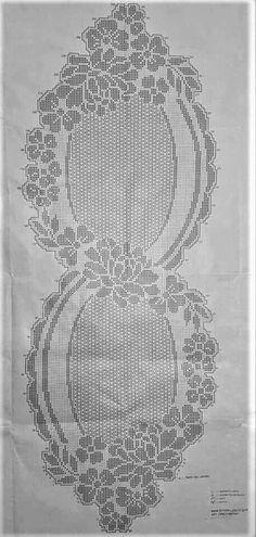 Crochet Table Runner Pattern, Crochet Motif Patterns, Crochet Bikini Pattern, Crochet Tablecloth, Crochet Doilies, Crochet Stitches, Cross Stitch Patterns, Crochet Hooded Scarf, Beaded Banners