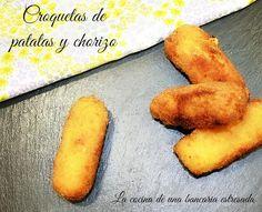 Croquetas de patatas y chorizo, ya no hay excusas para no hacer croquetas | Cocinar en casa es facilisimo.com