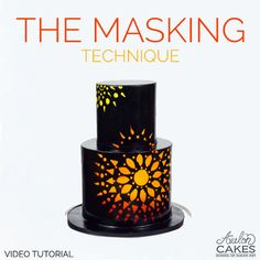 Video Tutorial: The Masking Technique. Learn how to create multiple designs on cake using the masking technique! Click through to see more.