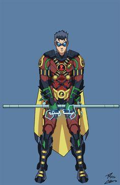Titan Robin by phil-cho.deviantart.com on @deviantART